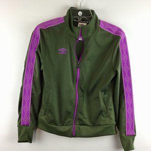 Umbro zipper pockets trim long sleeves jacket